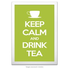 Poster Keep Calm and Drink Tea - comprar online