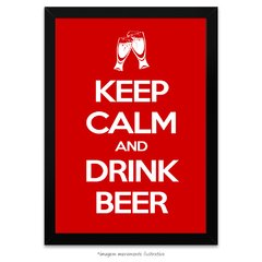 Poster Keep Calm And Drink Beer