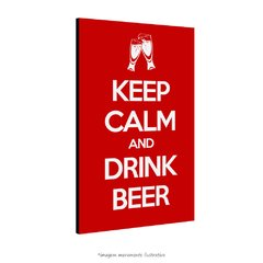 Poster Keep Calm And Drink Beer na internet