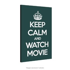 Poster Keep Calm And Watch Movie na internet