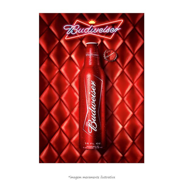 Poster Budweiser VIP - QueroPosters.com