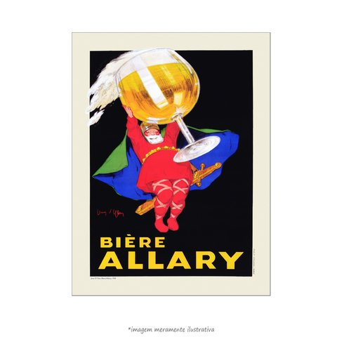 Poster Biere Allary