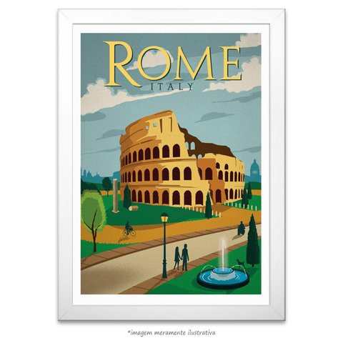 Poster Roma - comprar online
