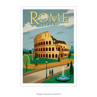 Poster Roma - QueroPosters.com