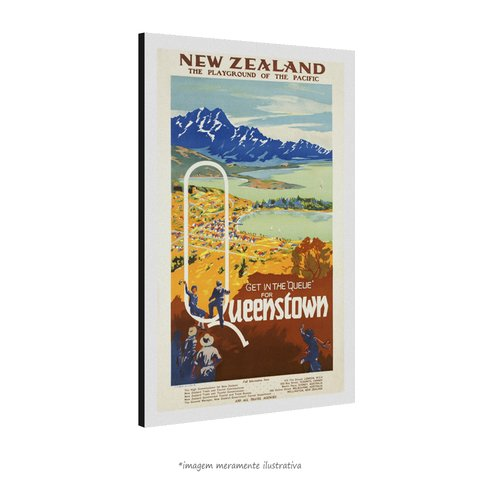 Poster Queenstown na internet
