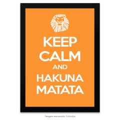 Poster Keep Calm and Hakuna Matata