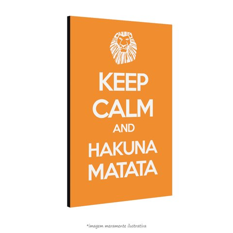 Poster Keep Calm and Hakuna Matata na internet