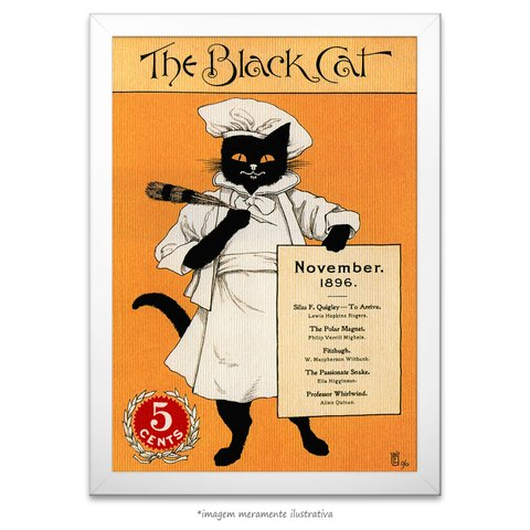 Poster The Black Cat - comprar online