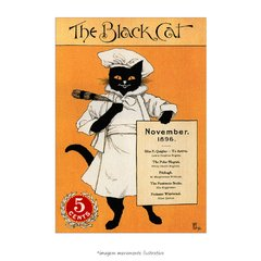 Poster The Black Cat - QueroPosters.com