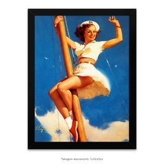 Poster Pin-up Girl: - Anchors A-Wow