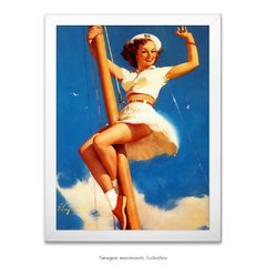 Poster Pin-up Girl: - Anchors A-Wow - comprar online