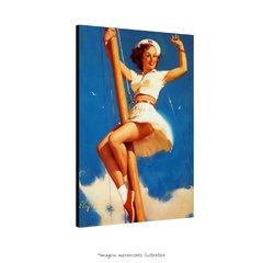 Poster Pin-up Girl: - Anchors A-Wow na internet