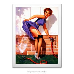 Poster Pin-up Girl: A Near Miss - comprar online