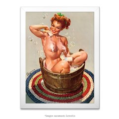 Poster Pin-up Girl: Bubbling Over - comprar online