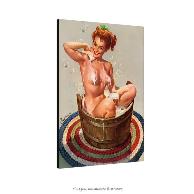 Poster Pin-up Girl: Bubbling Over na internet