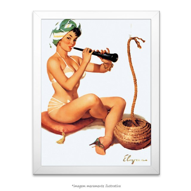 Poster Pin-up Girl: Charming - comprar online