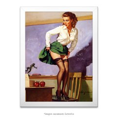 Poster Pin-up Girl: Class Dismissed - comprar online