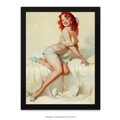 Poster Pin-up Girl: Darlene Bedside Manner