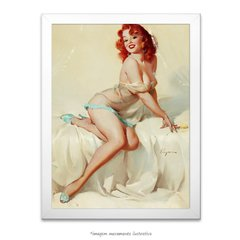 Poster Pin-up Girl: Darlene Bedside Manner - comprar online