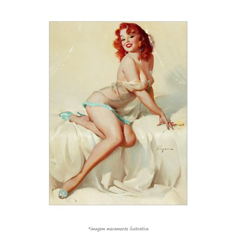 Poster Pin-up Girl: Darlene Bedside Manner - QueroPosters.com