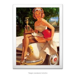 Poster Pin-up Girl: Fast Lass - comprar online
