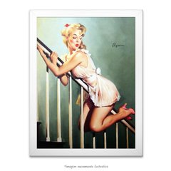 Poster Pin-up Girl: Look Out Below - comprar online