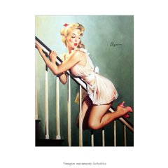 Poster Pin-up Girl: Look Out Below - QueroPosters.com