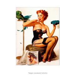 Poster Pin-up Girl: No You Don't - QueroPosters.com