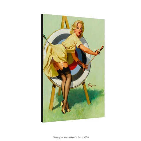 Poster Pin-up Girl: Right On Target na internet