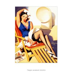 Poster Pin-up Girl: Skirts Ahoy - QueroPosters.com
