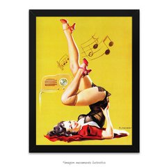 Poster Pin-up Girl: Station Wow