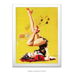 Poster Pin-up Girl: Station Wow - comprar online