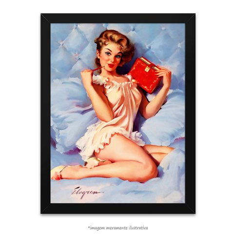 Poster Pin-up Girl: Thinking Of You - comprar online