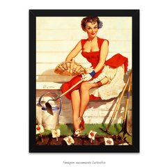 Poster Pin-up Girl: Worth Cultivating