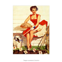 Poster Pin-up Girl: Worth Cultivating - QueroPosters.com
