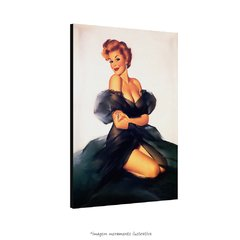 Poster Pin-up Girl: My Black Dress na internet