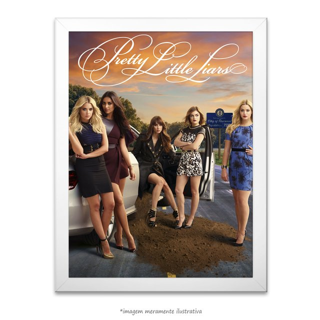 Poster Pretty Little Liars - comprar online