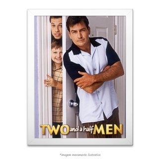 Poster Two And A Half Men - comprar online