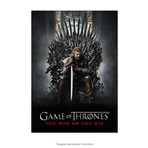 Poster Game of Thrones - Primeira Temporada