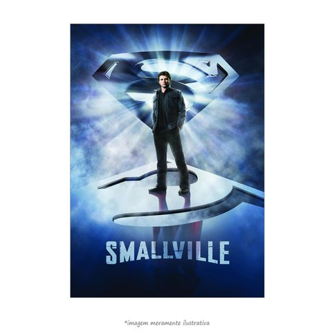 Poster Smallville: As Aventuras do Superboy - QueroPosters.com