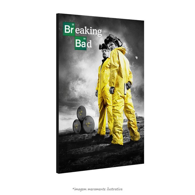 Poster Breaking Bad na internet