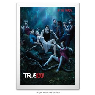 Poster True Blood - comprar online