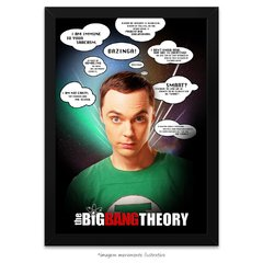 Poster The Big Bang Theory - Frases Memoráveis