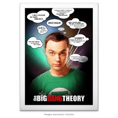 Poster The Big Bang Theory - Frases Memoráveis - comprar online