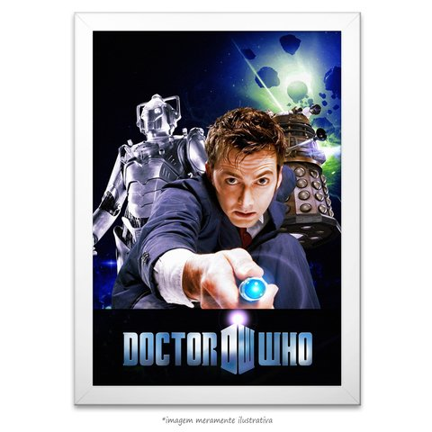 Poster Doctor Who na internet