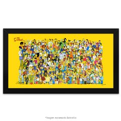 Poster Os Simpsons - Todos os Personagens
