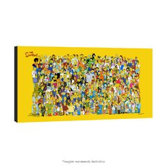 Poster Os Simpsons - Todos os Personagens na internet