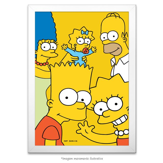 Poster Os Simpsons - comprar online