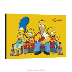 Poster Os Simpsons na internet