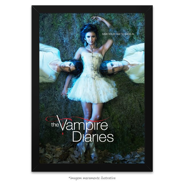 Poster The Vampire Diaries - comprar online